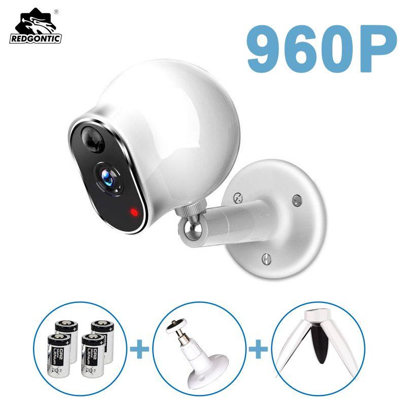 960P HD Wire Free Battery IP Camera Wifi Mini Wireless CCTV IP Kamera Sd Card Weatherproof Outdoor Video Surveillance Camera