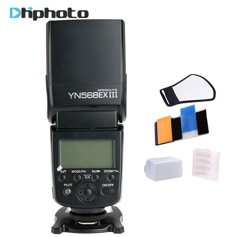 Yongnuo YN-568EX II Вспышка Speedlite YN568EX II Беспроводной TTL HSS для Canon 5D3 5D2 6D 7D D7100 Nikon D800 D750