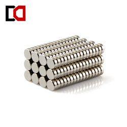 100 piezas disco 5x2mm n50 tierra rara permanente fuerte imán de neodimio NdFeB imanes de níquel