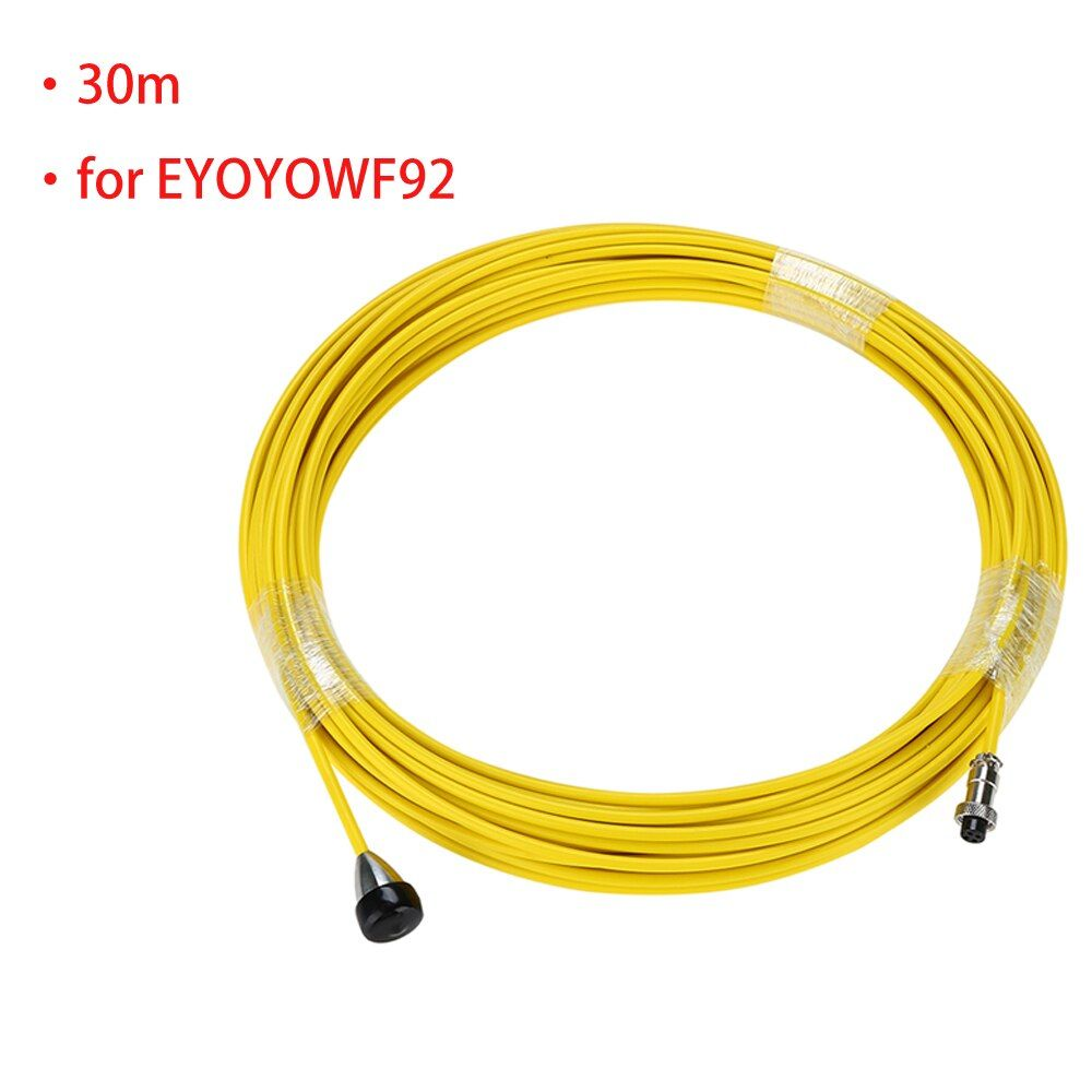 Sewer Pipe Wire Cable Yellow for EYOYO WF92 Drain Pipe Pipeline Inspection Camera System