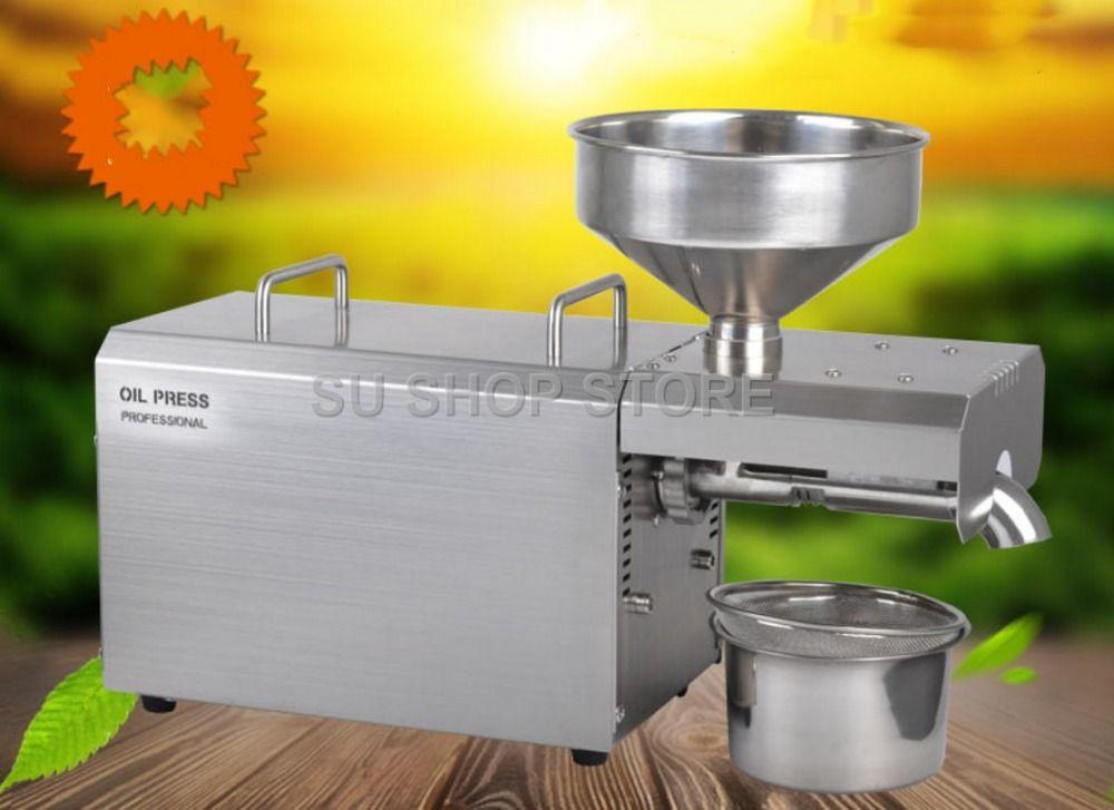 Multifunktionale ölpresse maschine für fabrik preis ölpresse maschine werkzeug/1500 W öl expeller für verkauf