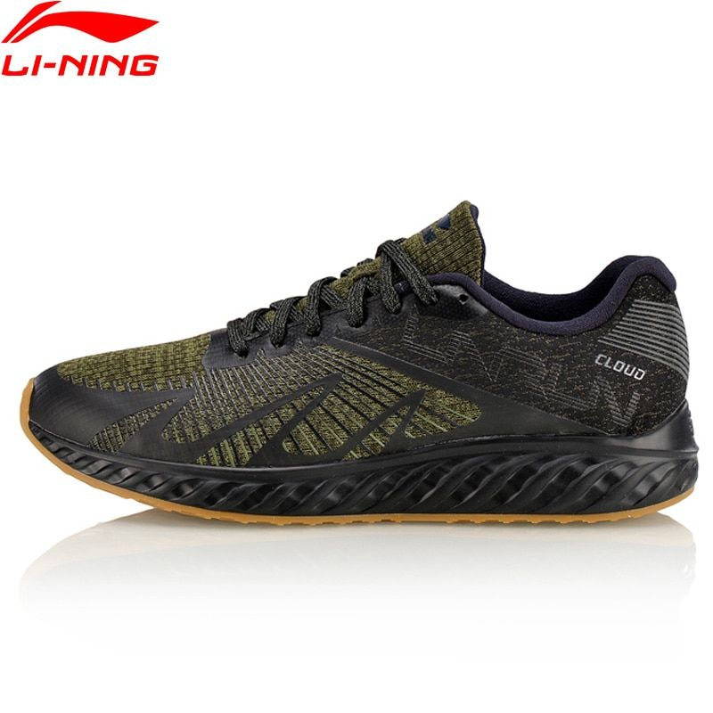 Li-Ning Men LN Cloud IV Flame Running Shoes Comfort LiNing Sports Shoes Light Weight Cushion Sneakers ARHM055 XYP585