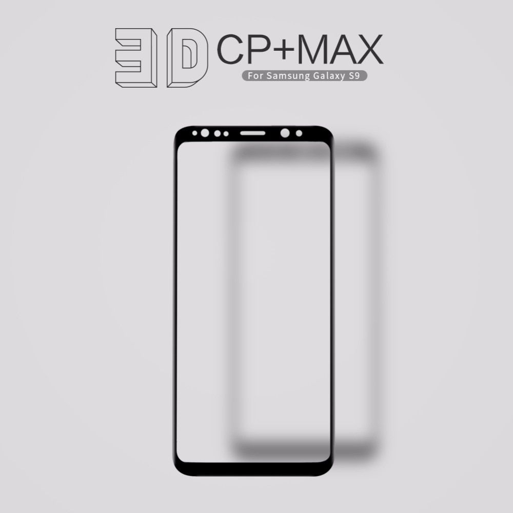 Nillkin screen protector for samsung galaxy s9 fully cover CP+Max 3D round edge thin for samsung s9 touch tempered glass 5.8''