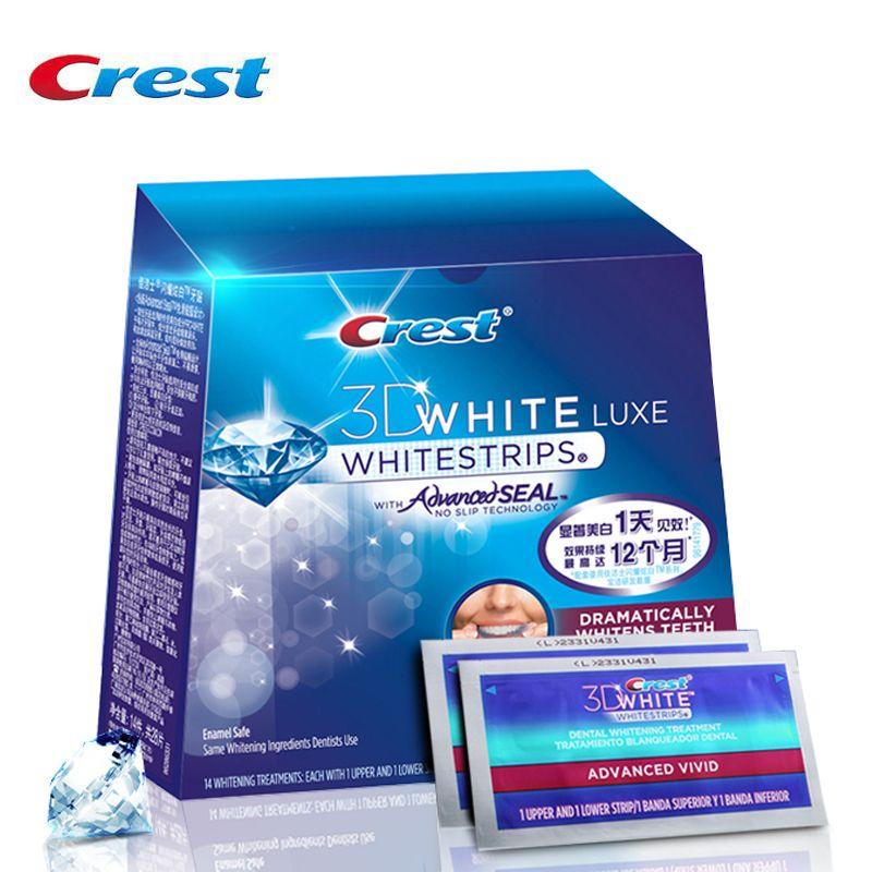 Crest Whitestrips Advanced Seal Oral Care Professional Whiten Effects White Strips Oral Hygeine Teeth Whitening