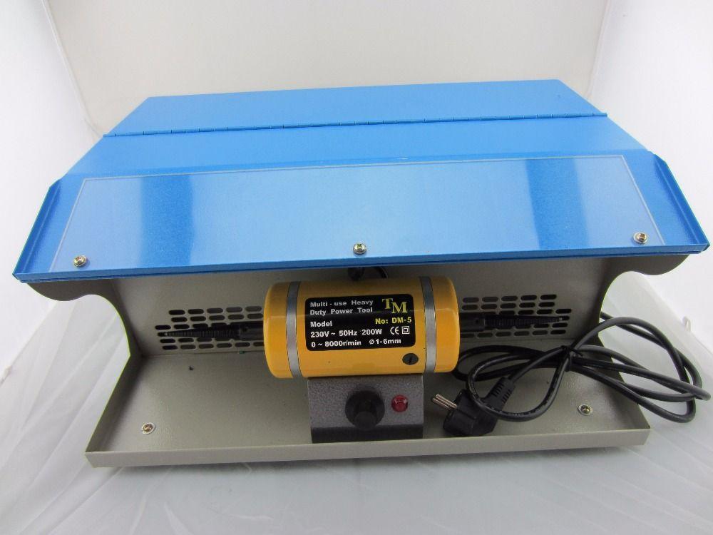 Mini bänke drehmaschine, schmuck poliermaschine gold schleifen polieren Motor schmuck polieren mit staubsammler