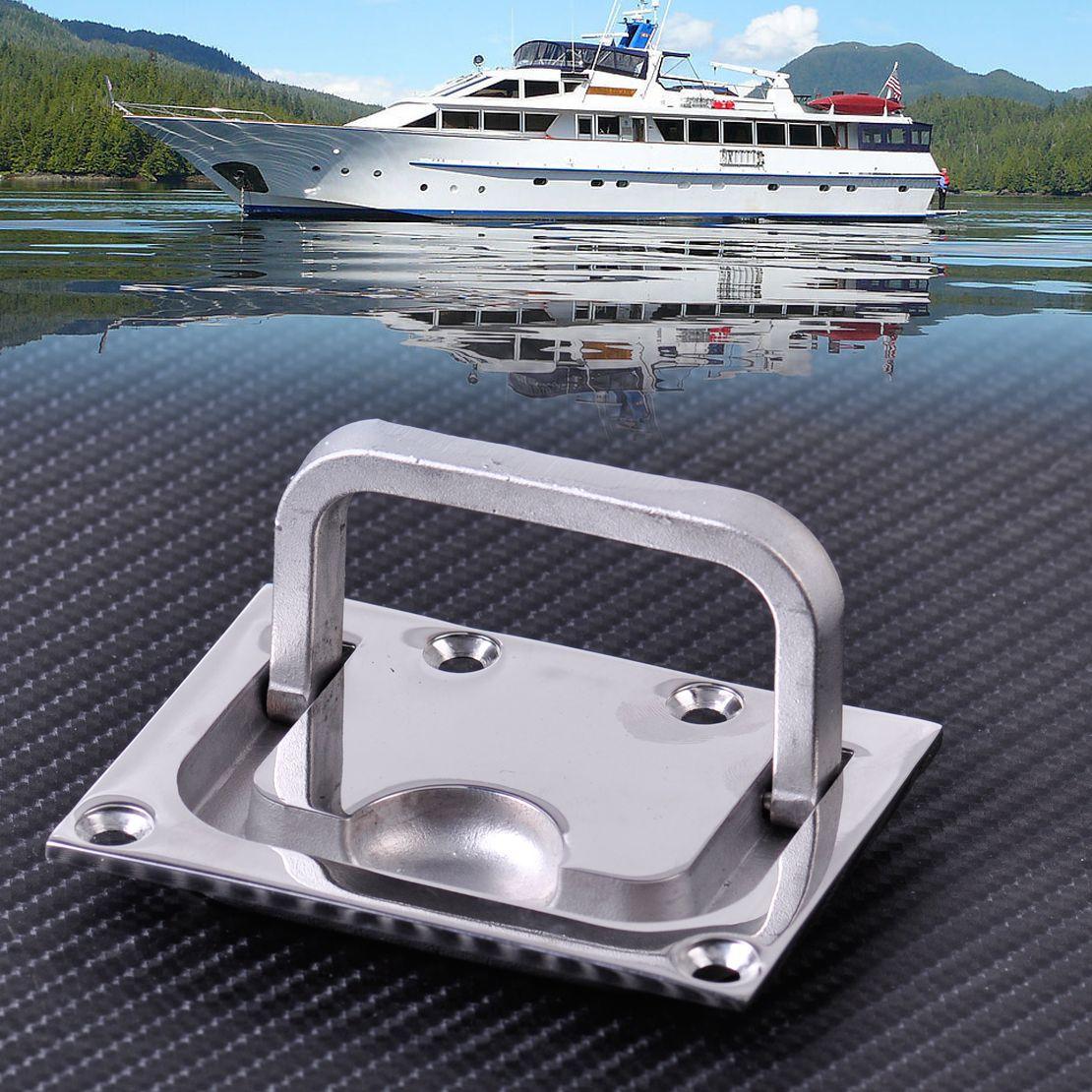 Citall Высокое качество 316 Нержавеющаясталь для лодки морской Caravan флеш люк шкафчик шкаф Лифт тянуть ручки Аппаратные средства