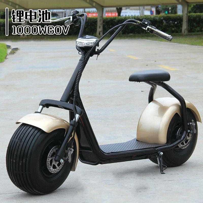 60 v elektrische fahrrad Harley auto erwachsene ebike batterie auto elektrische motorräder roller lithium-trolley rad passagier dreirad