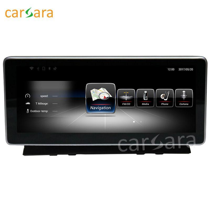 Carsara Android display für Benz C Klasse W204 2008 zu 2010 10,25