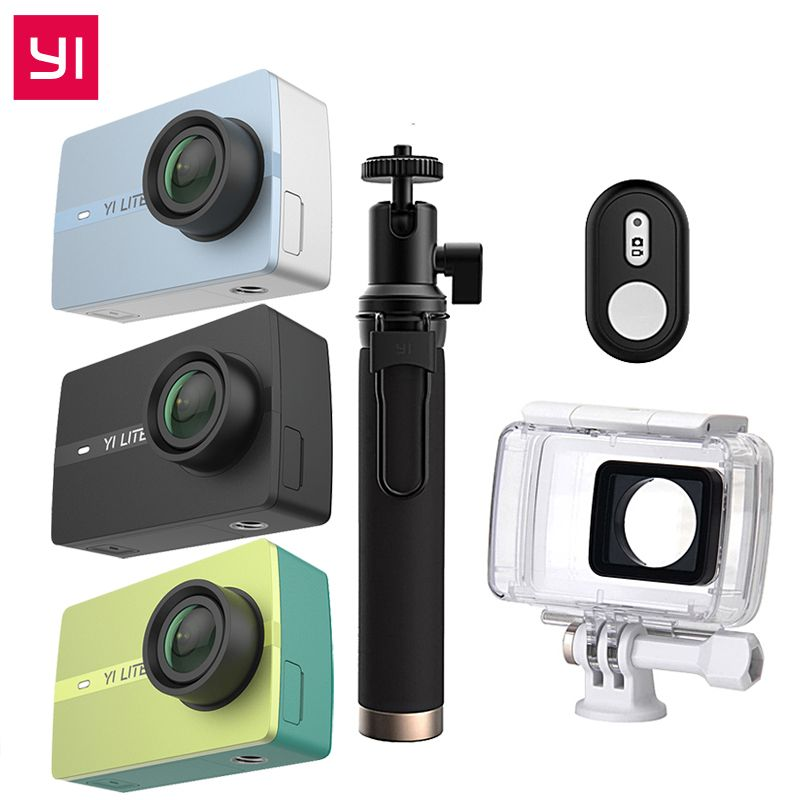 International For Xiaomi YI Lite Action Camera 16MP Real 4K Sports Camera Bluetooth WIFI 2