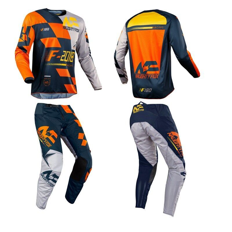 Racing Off Road Motorcycle SAYAK Set Moutain Dirt Bike Cycling Combo 180 Jersey XC MX Motocross Pants With Protective Pads