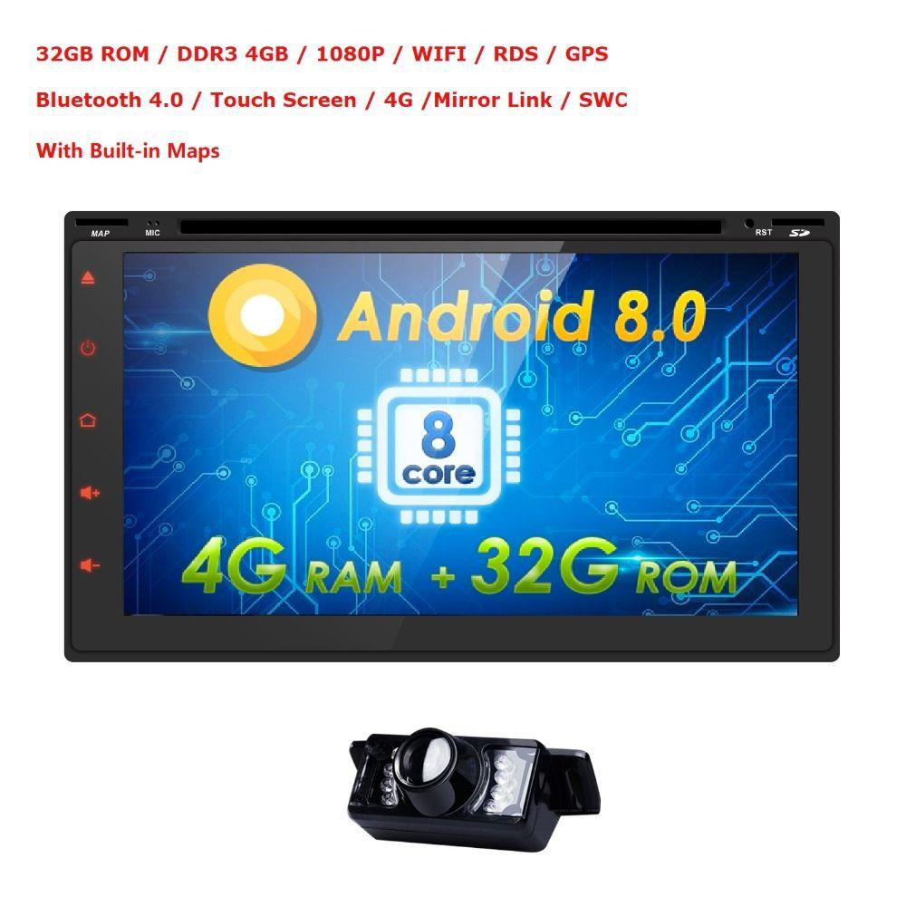 4G+32G Car Radio Autoradio GPS Bluetooth Car Stereo 2 din 7