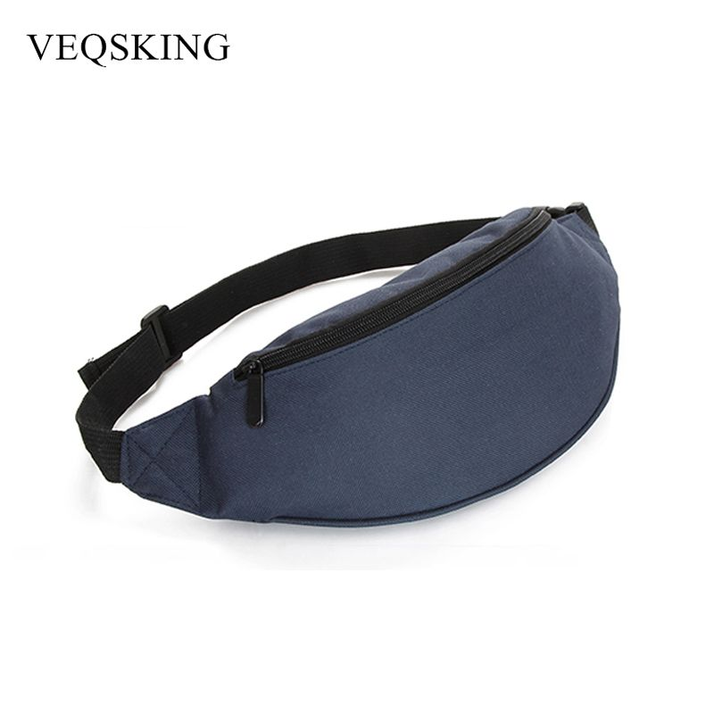 Waterproof Nylon Running Waist Bag For Women Men Chest Bag Outdoor Sport Waist Pack 4 Colors