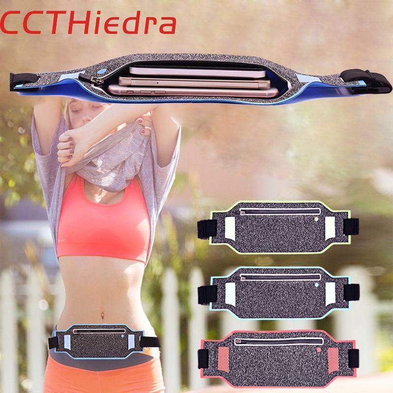 Ccthiedra талии Ремни молнии мягкий чехол повязки телефона чехол для iPhone 6 7 8x плюс спорт Универсальный 4.0 ''- 6.0 ''Мобильный телефон сумка