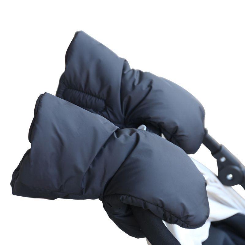 Baby Stroller Warm Glove Winter infant Stroller Essential Accessories Kids Toddler Trolleys Pram Pushchair Car Gloves