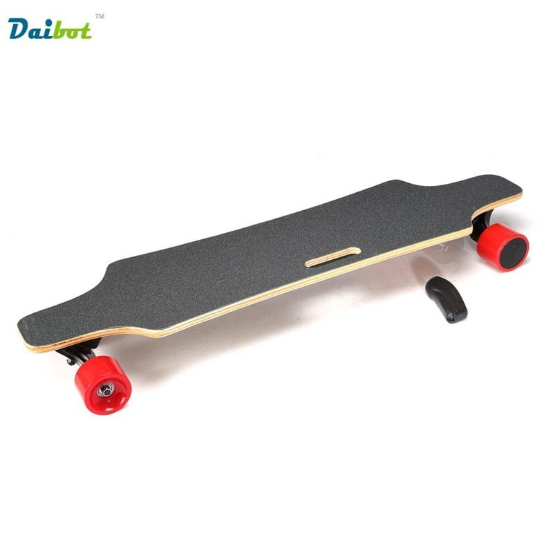Speed 40KM/h Samsung Remote Control Double Motors 300W*2 4 Four Wheels Electric Skateboard Hoverboard Longboard Scooter Board