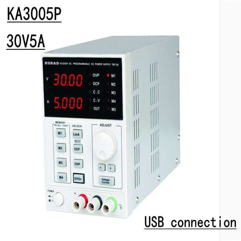 KA3005P-Programmierbare Präzision Einstellbare 30 v, 5A DC Linear Netzteil Digitale Geregelte Lab Grade (mit USB und software)