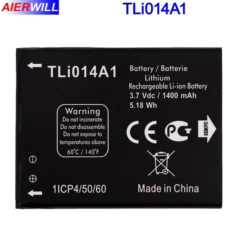 Tli014A1 Battery For Alcatel M'Pop 5020 5020D fire 4012 4012A 4012X 4007D Pixi 3 4.5