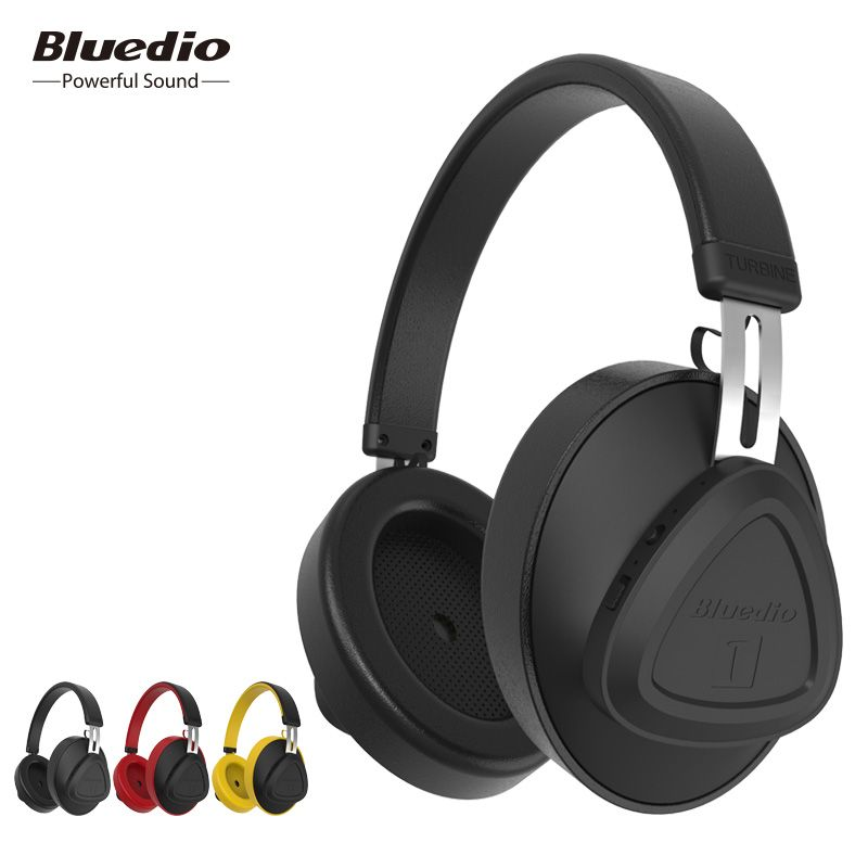 Bluedio TMS wireless headphone with microphone monitor studio bluetooth headset voice control for music and phones