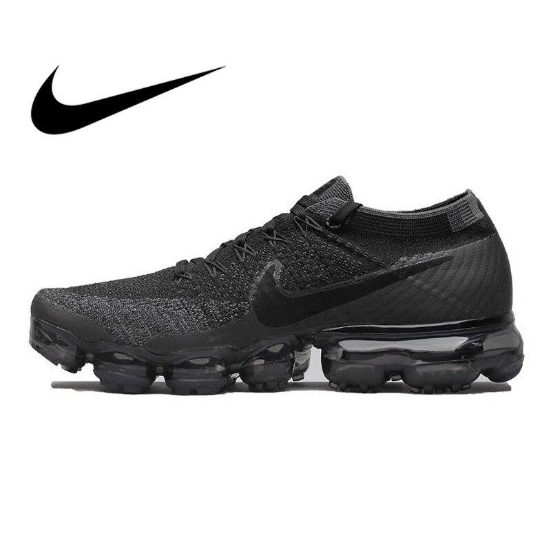 Original Offizielle Nike Air VaporMax Wahr Sein Flyknit Atmungsaktive Laufschuhe für Männer Outdoor Sport Low Top Komfortable Sneaker