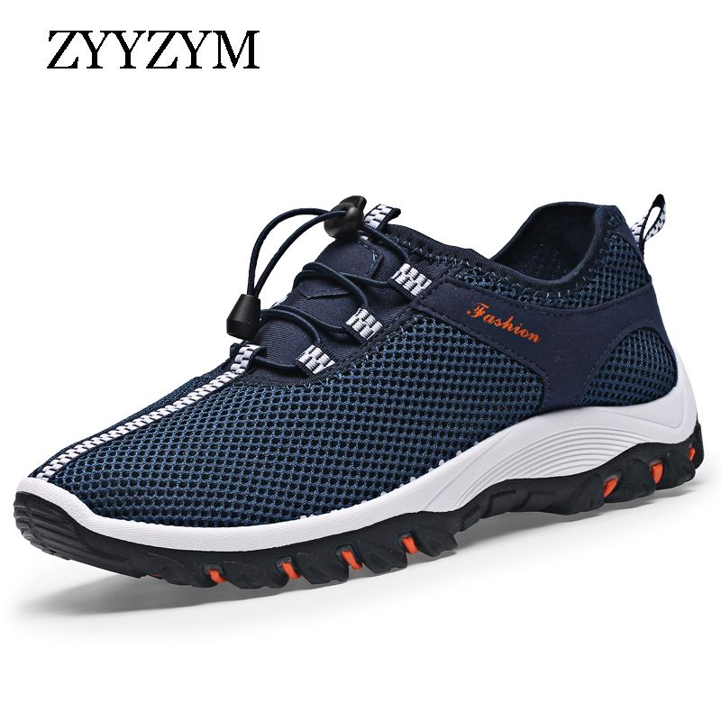 ZYYZYM Spring Summer Casual Shoes For Men New Arrival Ventilation Fashion Sneakers Outdoors Tourism Men Shoes