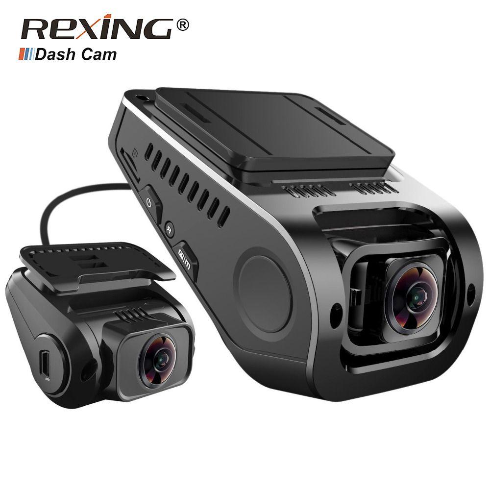 Rexing F8 Plus, 1080P+ 1080P Front Rear Dual Camera Car Dvr Dash Cam