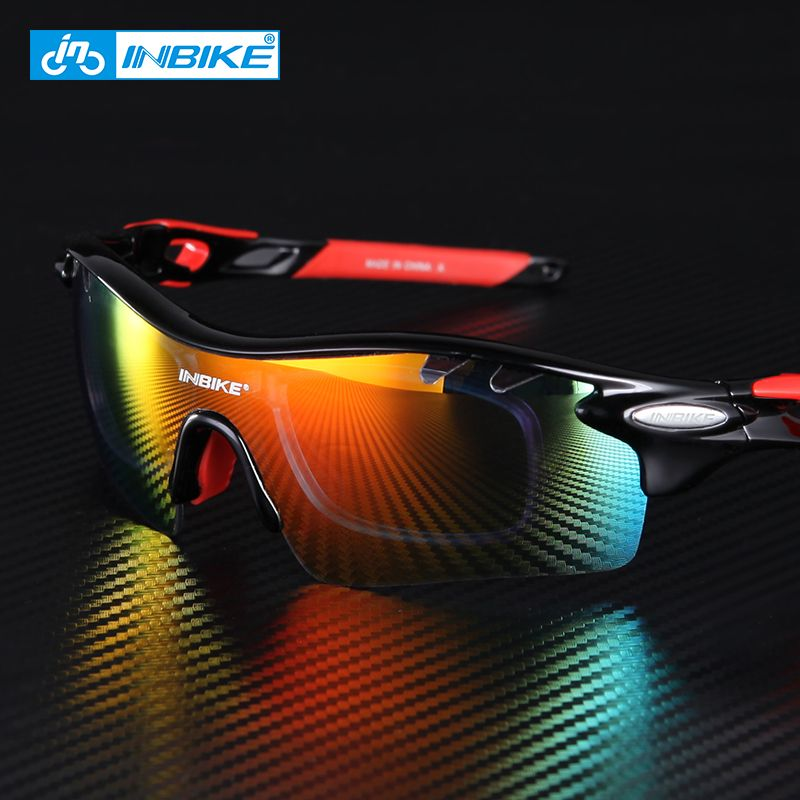 Cycling <font><b>Glasses</b></font> Men Women Polarized Bike Eyewear Bicycle Goggles Outdoor Sports Bicycle Sunglasses Goggles 5 Groups of Lenses