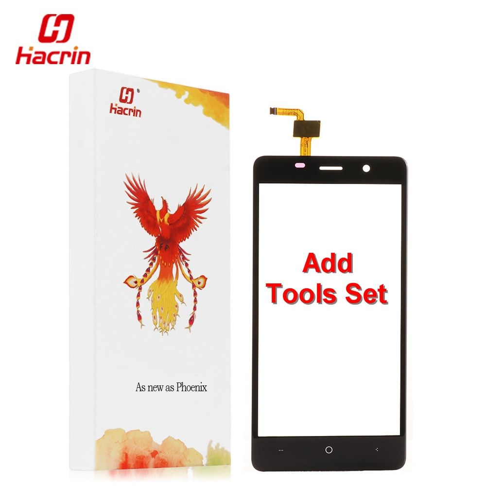 hacrin Leagoo M5 Touch Screen + Tools Set 100% New Digitizer Panel Assembly Replacement Accessory For Leagoo M5 Mobile Phone