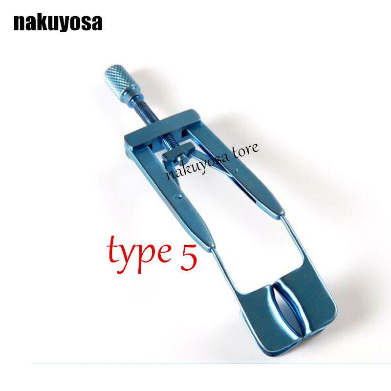 type5 Microscopic Medical Ophthalmic Instruments Titanium eyelid stretcher Medical surgery eyelid eyelid open stretcher seal