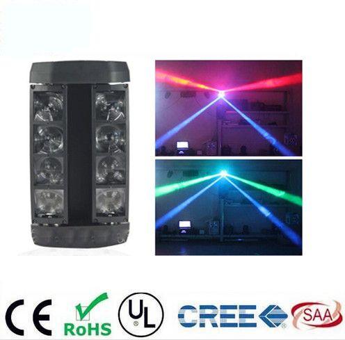 Mini LED Spider 8x6W RGBW Beam Light Good Quality Fast Shipping DJ mini Moving Head Light