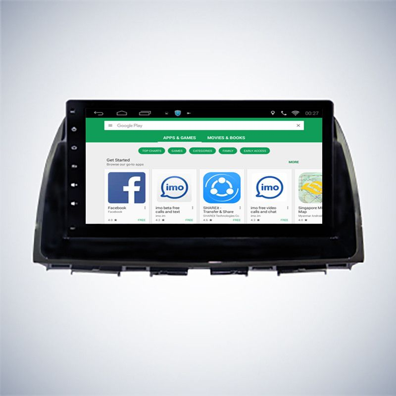 ChoGath 10.2 inch Android 7.0 Car GPS for Mazda CX5 CX-5 2013 2014 2015 with Mirror Link Radio Navi WIFI auto radio No DVD