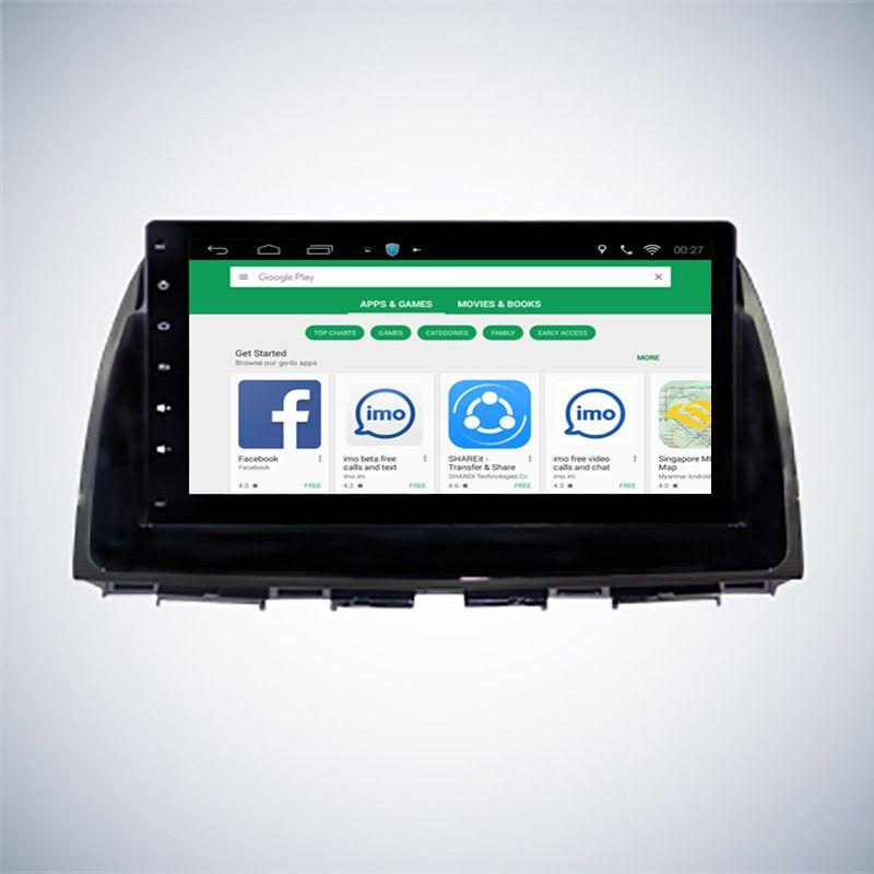 ChoGath 10.2 inch Android 7.0 Car GPS for Mazda CX5 CX-5 2013 2014 2015 with Mirror Link Radio Navi WIFI auto radio No DVD
