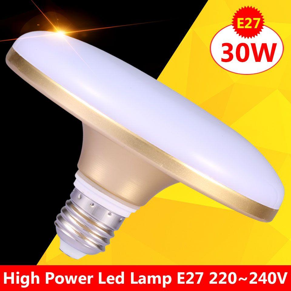 Высокая Мощность Светодиодные лампы E27 20 Вт 30 Вт 220 В лампочки Focos лампад led Casa E27 SMD5730 40 вт ampolletas LED Bombilla E27 50 Вт 60 Вт 220 В