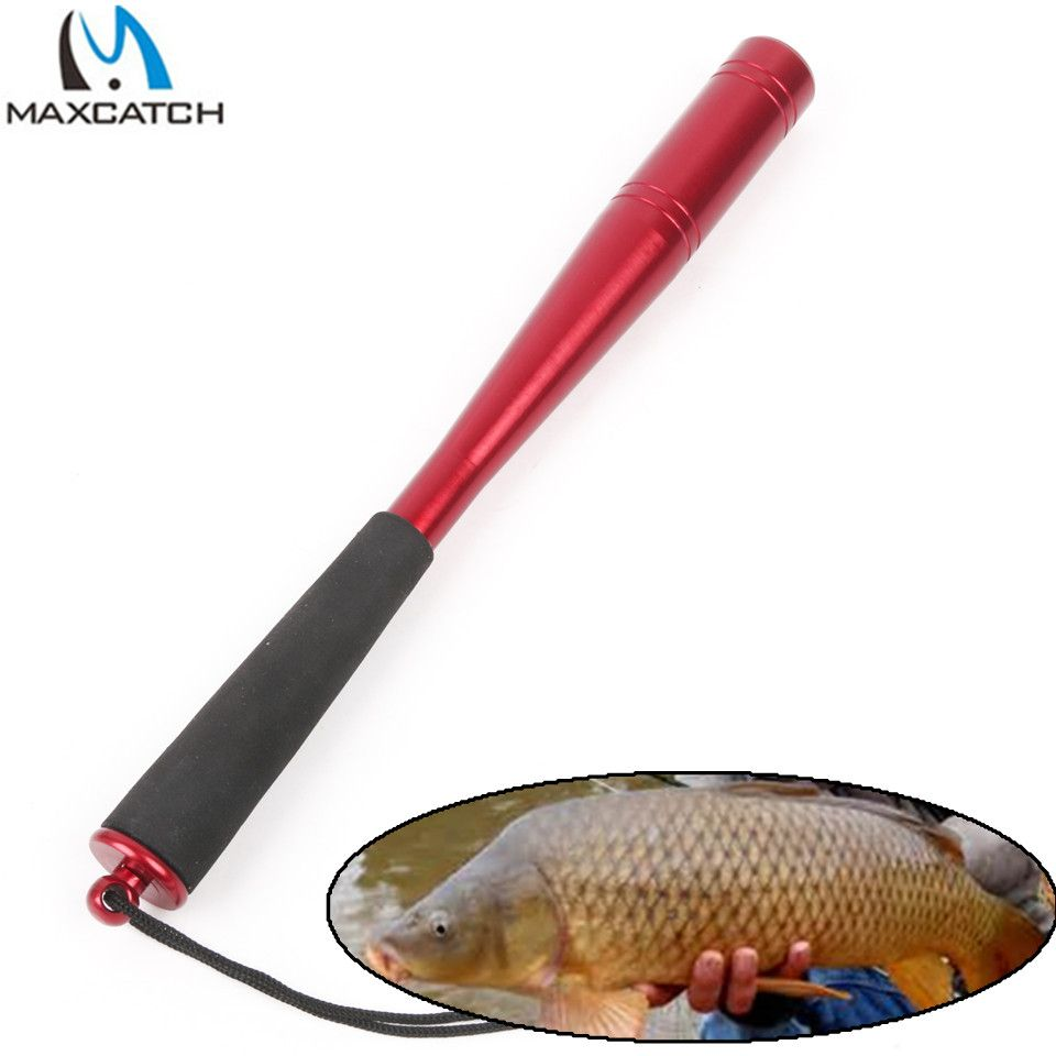 Maximumcatch Modern Shape Aluminum Machine Cut Fishing Priest Fishing Tool Fishing Accessory(Head Diameter 22mm/25mm)
