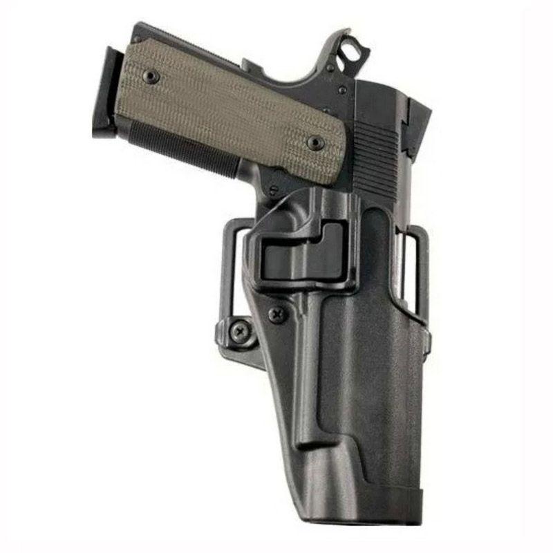 Drop rapide tactique Colt 1911 pistolet étui tir militaire Airsoft pistolet à main droite étui de transport ceinture étui accessoire de chasse