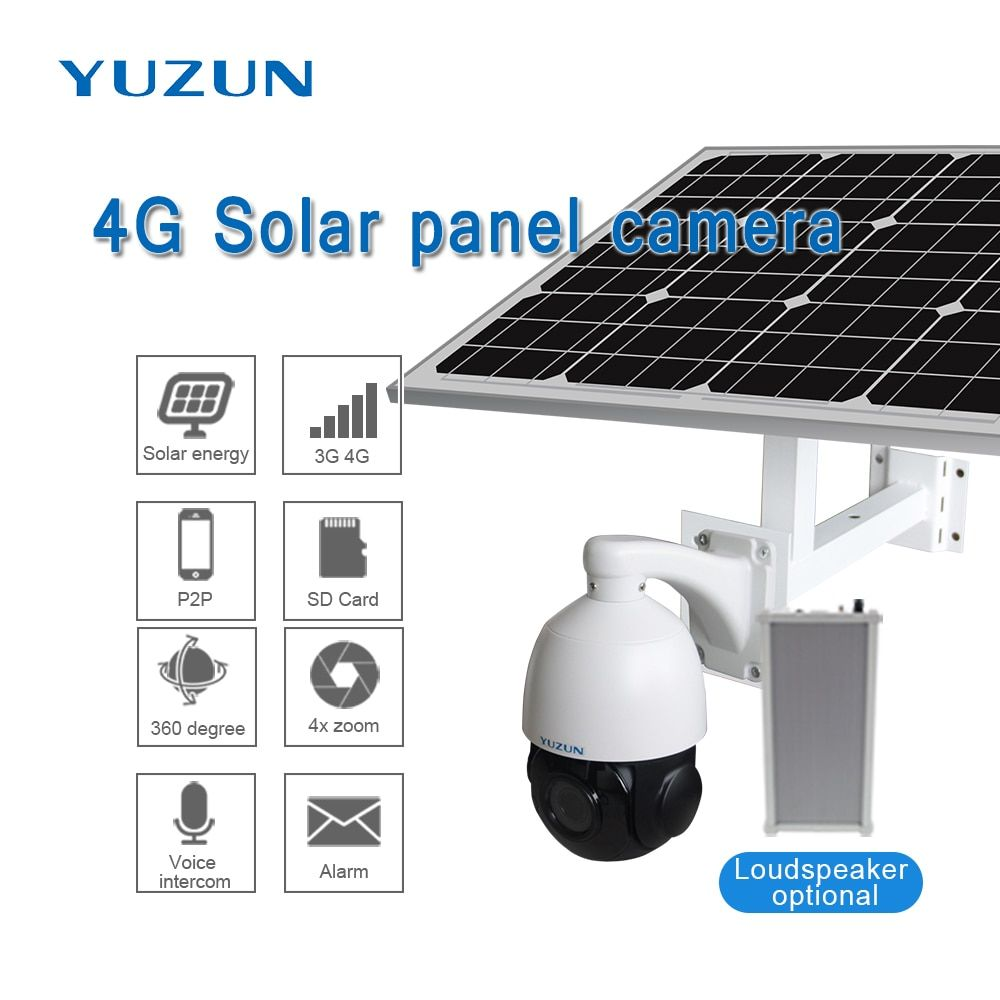 3g 4g solar powered ip camera with sim card 360 degree outdoor security camera wireless surveillance camera