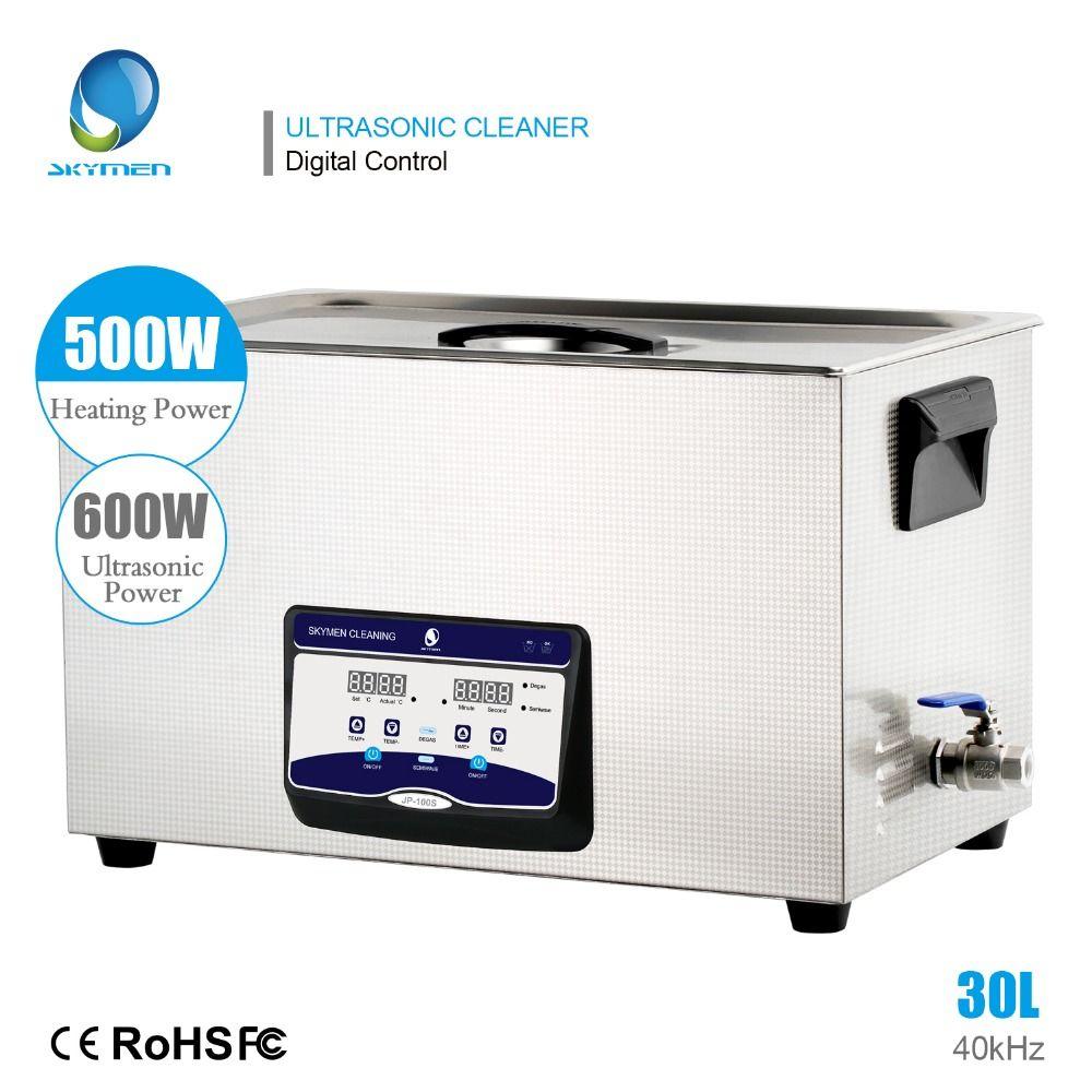 SKYMEN Ultraschall Reiniger 30l digital touch control ultasonic bad 110/220 V 600 w edelstahl tank reinigung Geräte