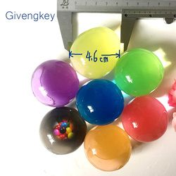 20pcs Water Beads Pearl Shaped Soft Crystal Soil Ball Magic Ball Hydrogel Water Bolus Water Ball Toys For Children