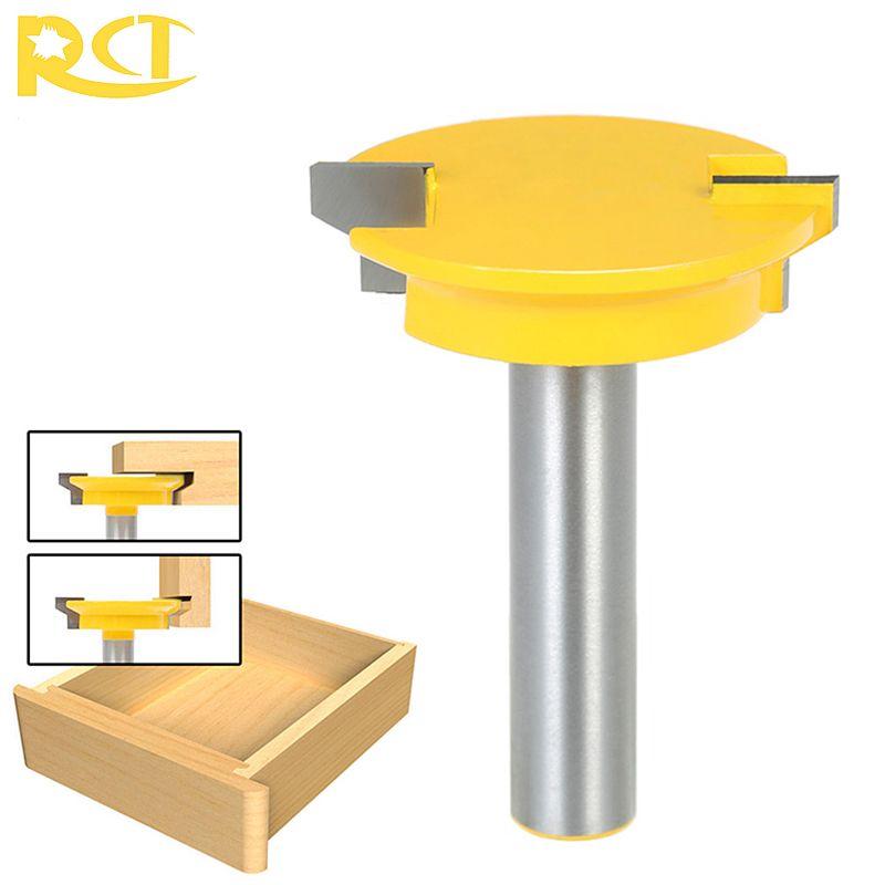 RCT 1/2 ''tige tiroir serrure Joint routeur fraise à bois fraises pour charpentier tiroir bois fiche casier outils de coupe