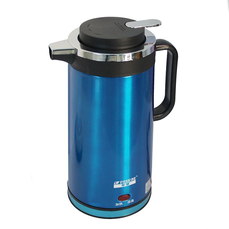 electric kettle electric pot 1.8L 1350W  Dry burning-resistant protection blueyellow  thermos bottle shipping free