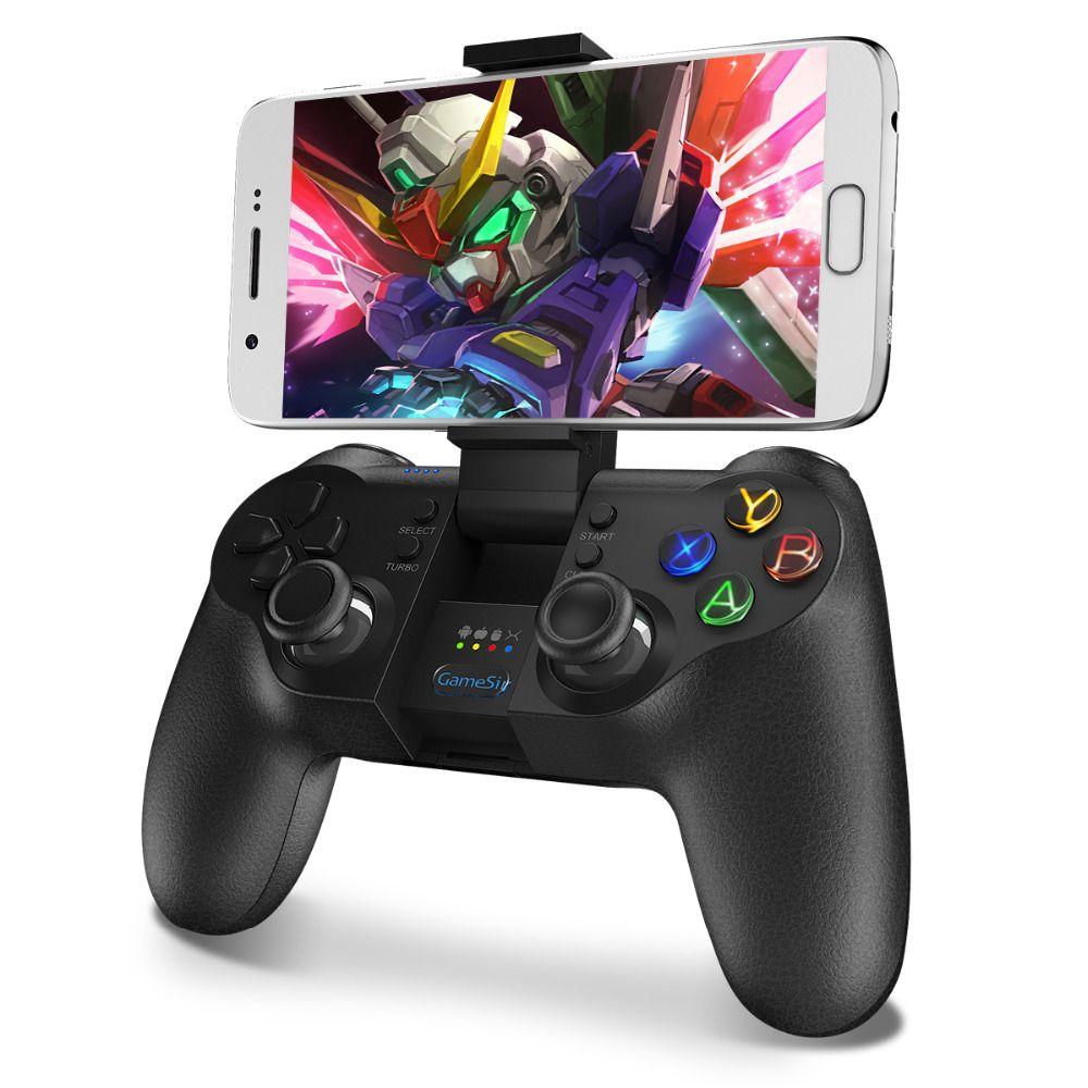 Gamesir коврик T1s pubg мобильный контроллер Bluetooth 4.0 2.4 ГГц Беспроводной игровой контроллер Игровые джойстик пульта дистанционного игры