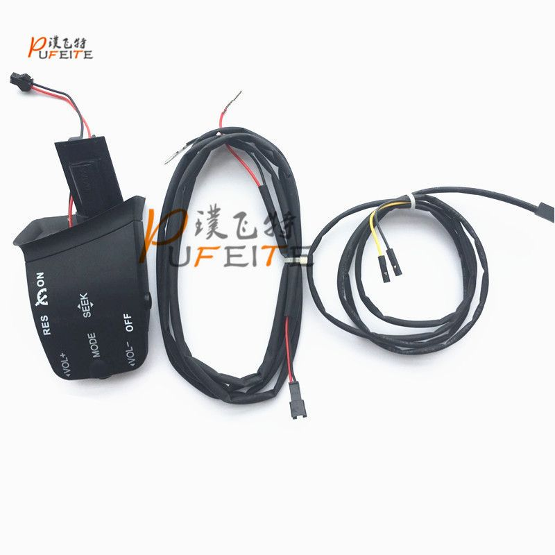 For Ford Focus 2005-2011 Steering Wheel Control Buttons Cruise Control Switch Music Audio Volume Constant Speed Handle Kit