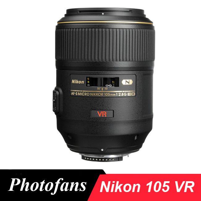 Nikon 105 VR Objektiv Nikkor AF-S Micro 105mm f/2,8G IF-ED VR Makro-objektiv Lente