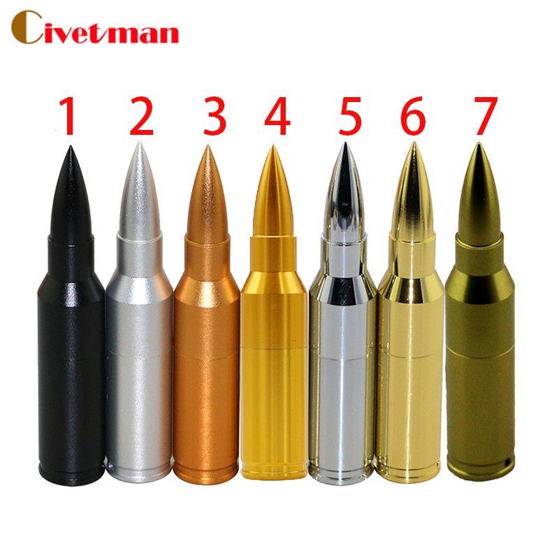 Metal pen drive Bullet usb stick usb flash drive 2G/4G/8G/16G/32G/64GB pendrive flash card usb 2.0 U disk flash memory stick