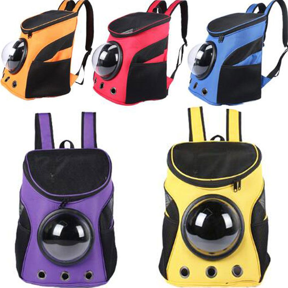 <font><b>Carrier</b></font> Dog Cat Space Capsule Shaped Pet Travel Carrying Breathable Shoulder Backpack Outside Travel Portable Bag Pet Products