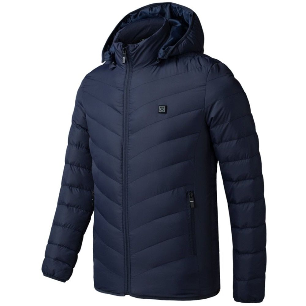 Electric Heated Man woman Jacket Vest Waistcoat Woman Coat Feather clothes Thermal Softshell Jacket Winter Heating Clothes
