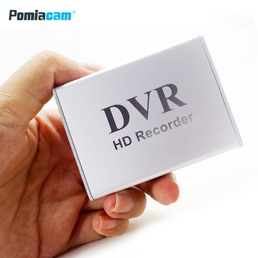 X-box New 1Ch Mini DVR Support SD Card Real-time HD 1 Channel cctv DVR Video Recorder Board Video Compression Color White