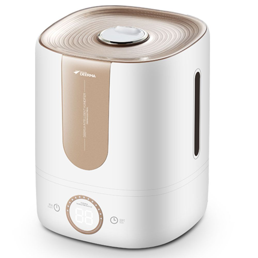 Deerma 5L Large Capacity Humidifier Touch Sensitive Mist Diffuser Silent Household Aroma Mist Maker