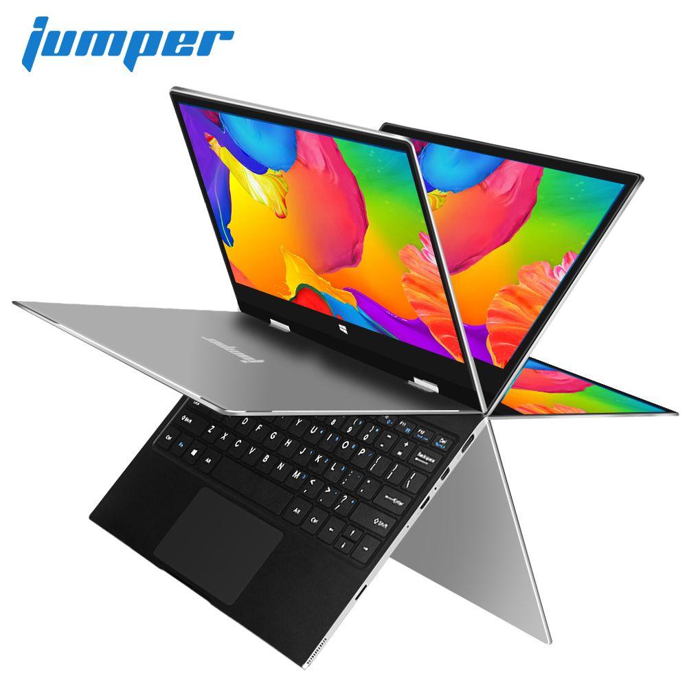 11.6 inch IPS Multi Touch Display laptop Gemini Lake N4100 notebook Jumper EZbook X1 ultrabook 4GB DDR4 64GB eMMC 64GB SSD Metal