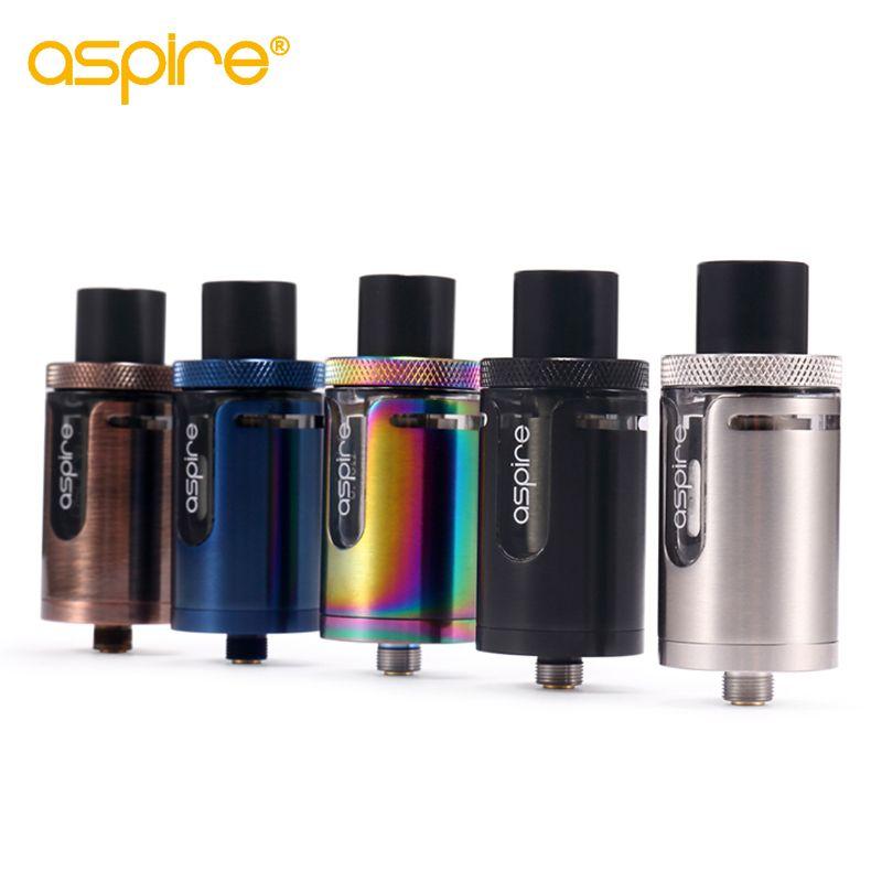 E Cig Atomiseur Aspire Cleito EXO Réservoir LA DPT/Standard Version 3.5 ml Cigarette Électronique Vaporisateur Réservoir E cigarette Atomiseur
