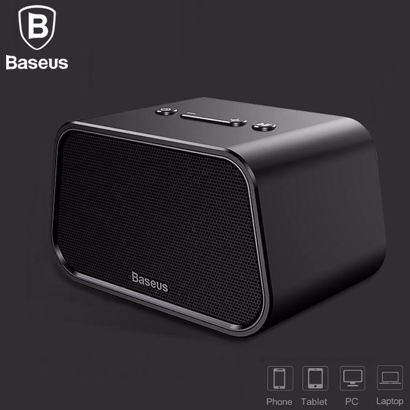 BASEUS Bluetooth Динамик мини Портативный открытый Беспроводной Динамик 3D музыке стерео объемного плеер Altavoz Bluetooth Haut parleur